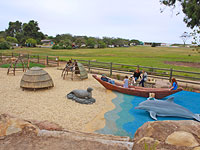 Tomol Interpretive Play Area
